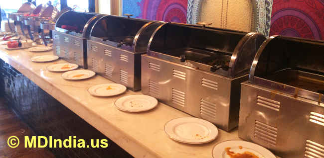 Indian LunchBuffet Counter image © MDIndia.us