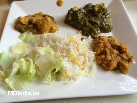 Kadhai Bethesda Veg Curries © MDIndia.us