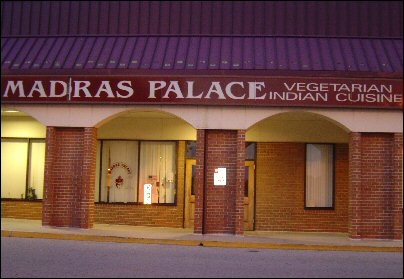 Madras Palace Gaithersburg (MD) Review
